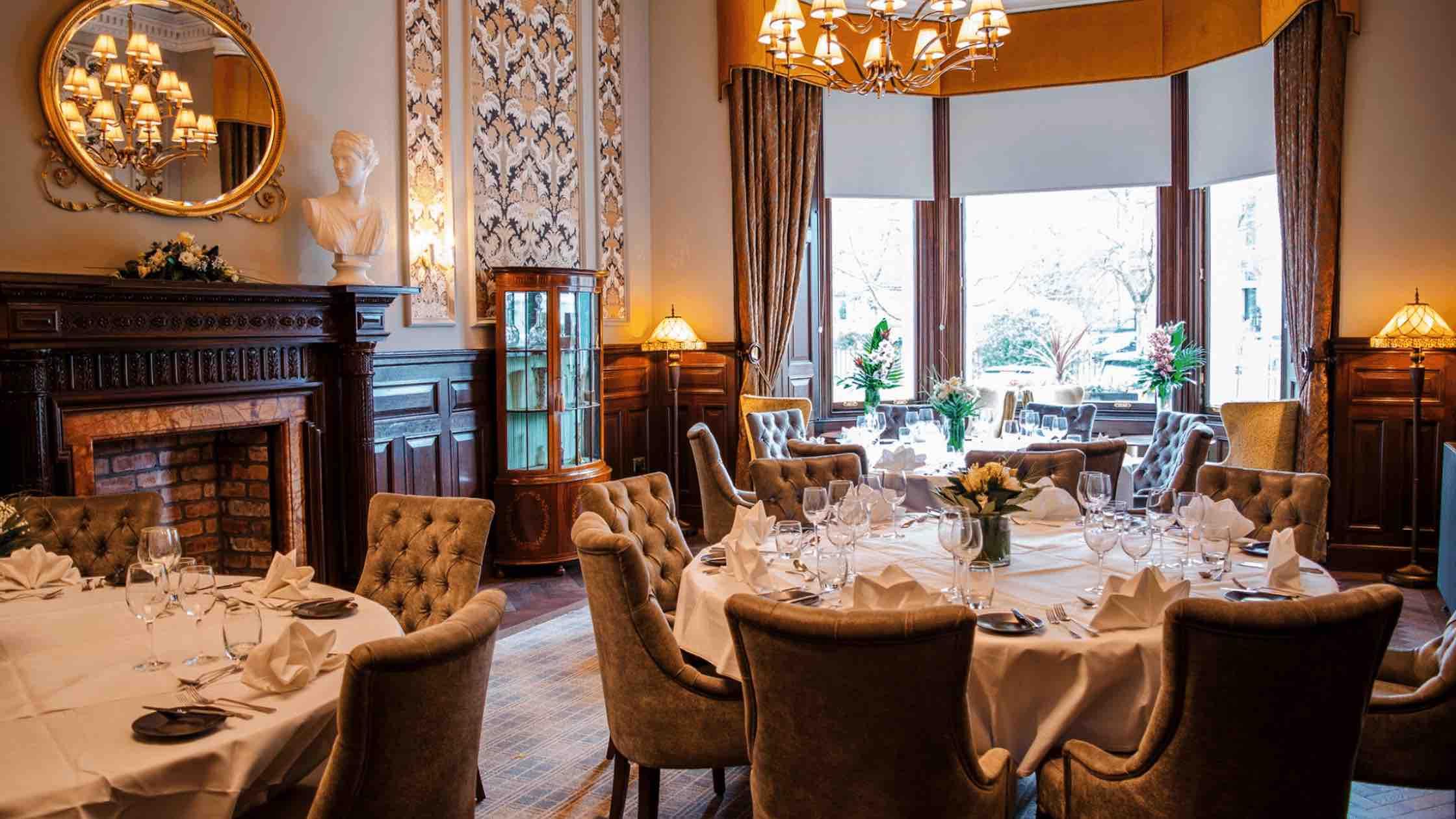 Breakfast room at The Bonham Hotel Edinburgh